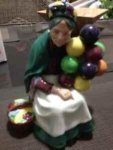 Royal Doulton Figurines Mandy Elaine The Balloon Seller Baby New