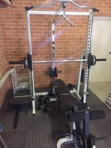 Home Gym - Smith Machine