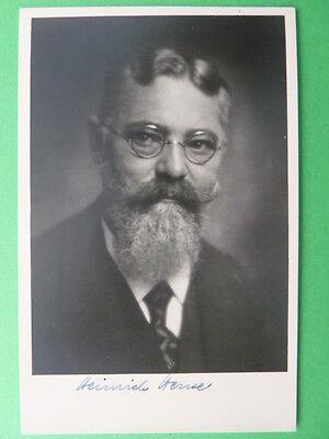 .Heinrich Hense † 1955 - Augendiagnostiker - Autogrammkarte