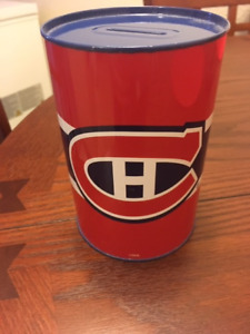 Montreal Canadians piggy bank