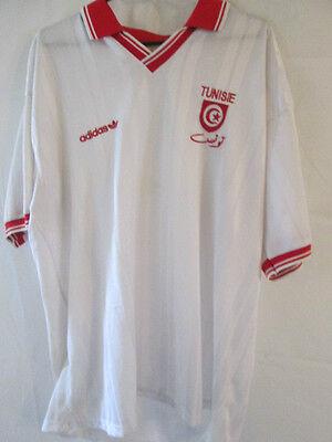 Tunisia 1992-1994 Home Football Shirt Size 38
