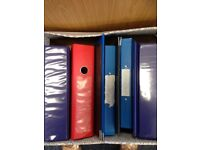 30 Assorted Lever Arch files in used condition