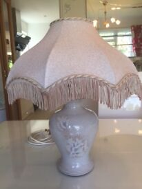 Pretty Denby Pottery Table Lamps hand thrown by Dave Chambers