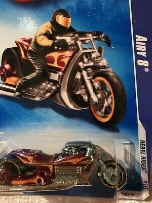 2009 Hot Wheels Airy 8 Rebel Rides #137