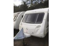 Swift Merlin Charisma Special Edition 565 6 Berth Caravan with Motor Mover
