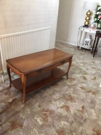 Occasional Table with matching Nest of Tables