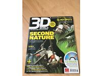 3D World Second Nature Jun 2007 + Free CD