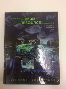 9th Edition Textbook: Canadian Human Resource Management