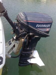 1990 15 hp long shaft Evinrude