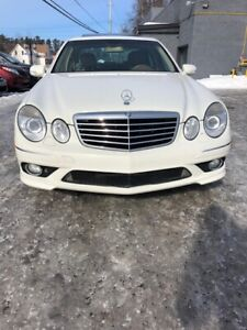 2008 MERCEDES SAFETIED  E350 4MATIC SPORT PACKAGE
