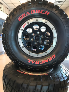 RAPTOR TIRES AND RIMS