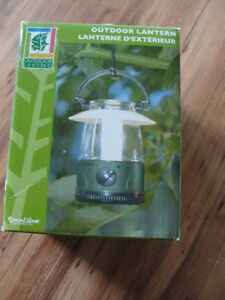 NEW small lantern & clothsline  & BBQ tool holder for camping