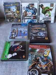 Assorted Playstation games