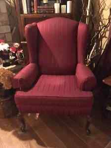 Like new wing chair