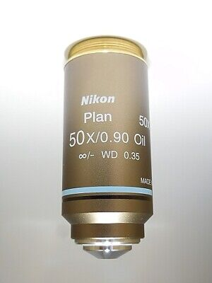 Nikon 50x Oil Immersion Objective