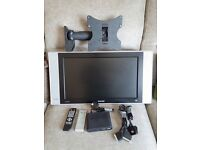 Philips 23PF4321/01 LCD TV + Wall Bracket and Freview Box