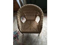 Childs Wicker Chair Excellent Condition
