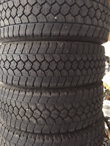 LT265/70R17 Toyo WLT1 10ply M+S with mountain and Snowflake embl