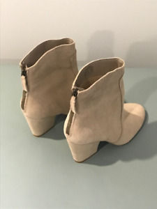 BRAND NEW! Nine West Genuine Leather Booties - Size 7.5