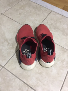 RED NMD SHOES - SIZE 10