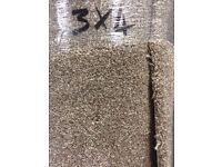Luxury Latte Carpet Remnant (3.00 x 4.00m) for £100 - NEW