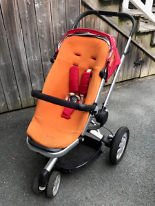 Quinny Buzz Stroller - needs some work on one wheel