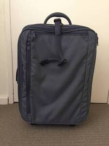 Mandarina Duck Small Blue Suitcase Sandy Bay Hobart City Preview