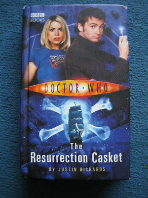 Doctor Who - The Resurrection Casket by Justin Richards BBC Hardback Book