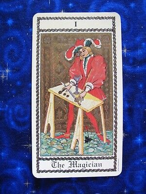 Medieval Scapini Tarot single replacement card 1985 Luigi Scapini Italian