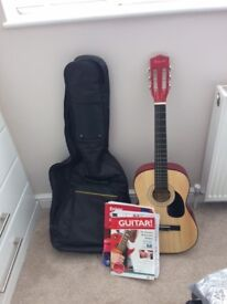 Childrens Guitar with case