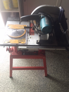 JEPSON CHOP SAW PLUS SKILSAW TABLE SAW 10inch blade