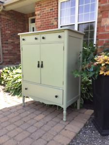 Refinished Cabinet/Dresser, Beautiful!