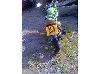 TAKANO XGJ125-23 Scooter/Motorbike