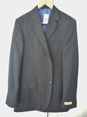 M&S COLLEZIONE INSPIRED BY ITALY MEN'S SUIT JACKET NAVY SIZE 40 LONG BNWT