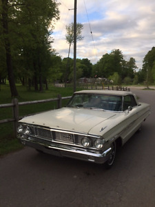 1964 Galaxie XL Conv., Texas car, New top, tires, & carpet
