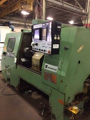 Wasino Lj-62m Cnc Lathe Turning Center With Live Milling Fanuc Control