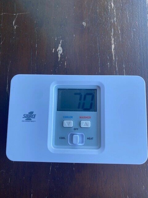 Source 1 Thermostat S1-thec11ns white