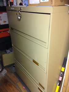 Lateral Four Drawer filing cabinet