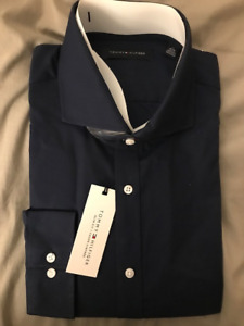 BNWT Men's Tommy Hilfiger Dress Shirt size 17 32/33