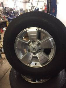 2011 Toyota Tacoma 17 inch alloy wheels/Toyo  Open country Ht