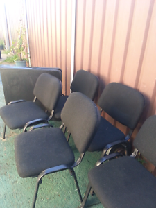 5 chairs with table Fairfield Fairfield Area Preview
