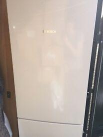 Bosch fridge freezer, still 10 months left on warranty, excellent condition