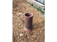 Chimney pots for sale there is 22 in total mostly in good condition, clay terracotta, SW17 £10-15