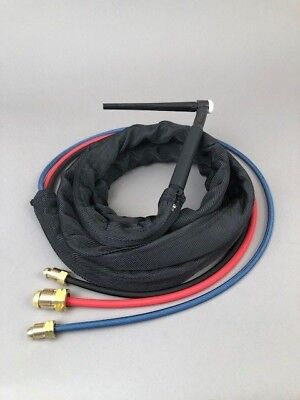 25' WP-20 Water Cooled Tig Torch Package Miller Syncrowave 250  330A/BP Tig Torch Package