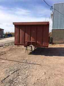 Boîte d'acier pour camion