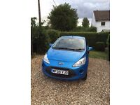 Ford ka 09 plate 1 previous owner