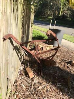 single furrow horse plough