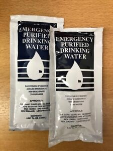 Free - Expired Emergency Water Rations