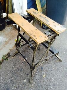 Black and Decker Workmate Table
