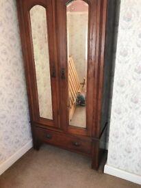 Wardrobe Antique Edwardian